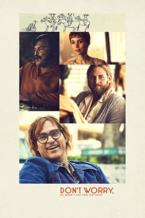 Movie poster of Don't Worry, He Won't Get Far on Foot