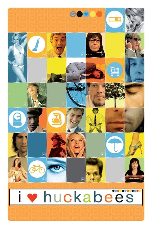 Movie poster of I Heart Huckabees