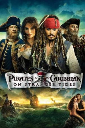 Movie poster of Pirates of the Caribbean: On Stranger Tides