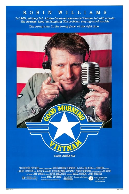 Movie poster of Good Morning, Vietnam
