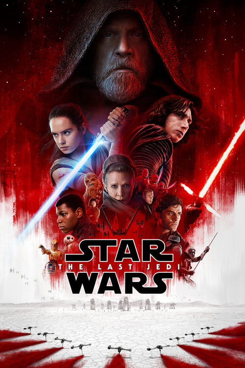 Movie poster of Star Wars: The Last Jedi