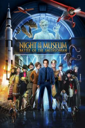 Movie poster of Night at the Museum: Battle of the Smithsonian