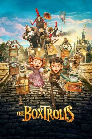 Movie poster of The Boxtrolls