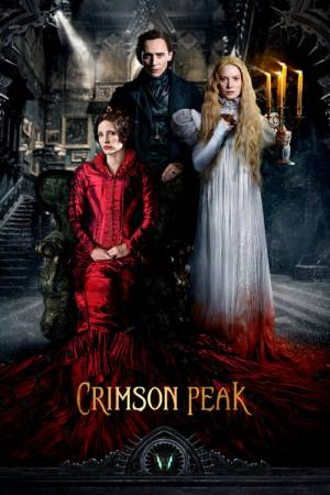 Movie poster of Crimson Peak