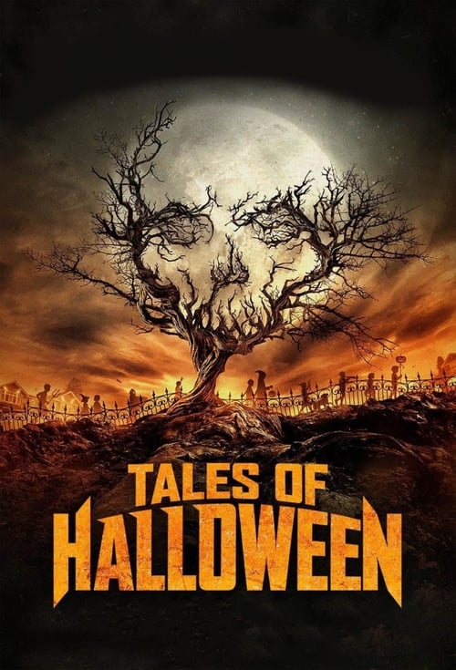 Movie poster of Tales of Halloween