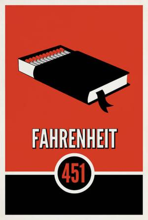 Movie poster of Fahrenheit 451