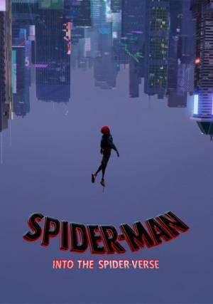 Movie poster of Spider-Man: Into the Spider-Verse
