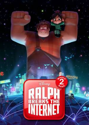 Movie poster of Ralph Breaks the Internet