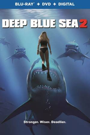 Movie poster of Deep Blue Sea 2