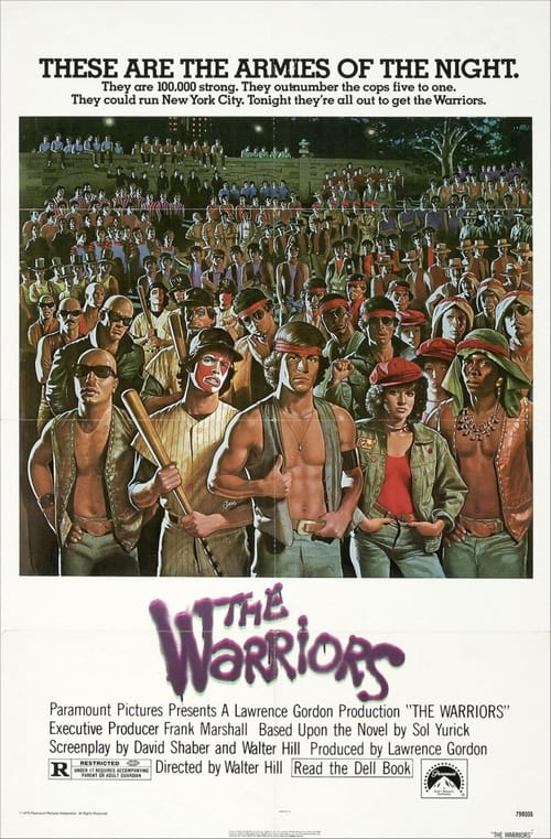 Movie poster of The Warriors