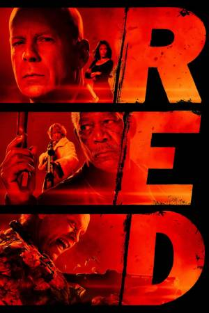 Movie poster of RED