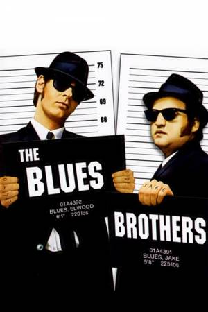 Movie poster of The Blues Brothers