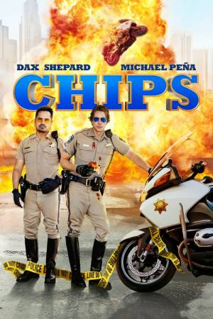 Movie poster of CHiPS