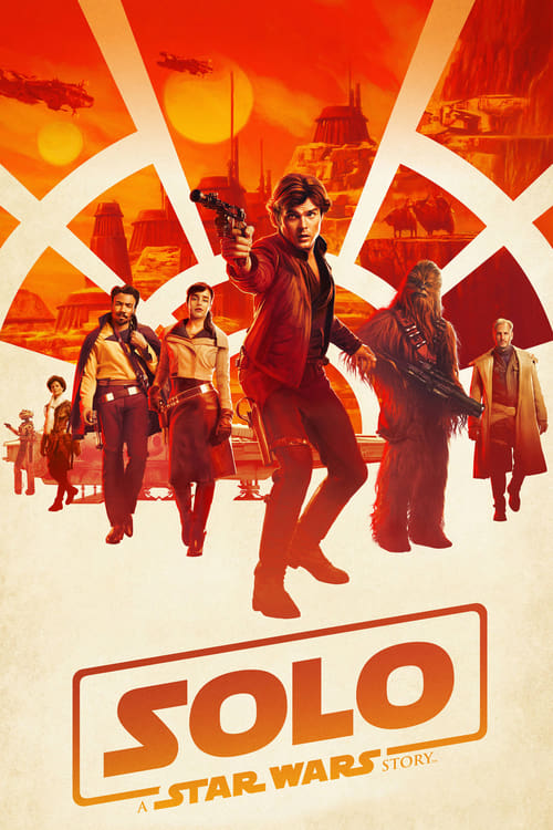 Movie poster of Solo: A Star Wars Story