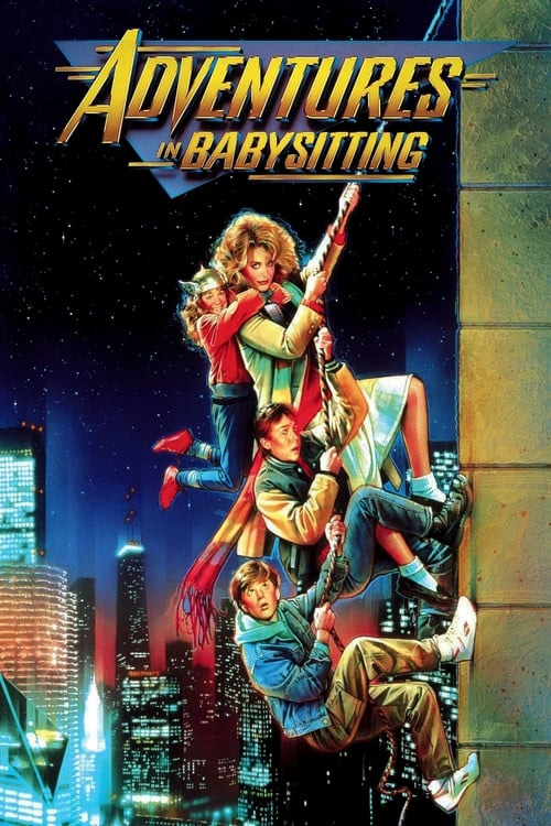 Movie poster of Adventures in Babysitting