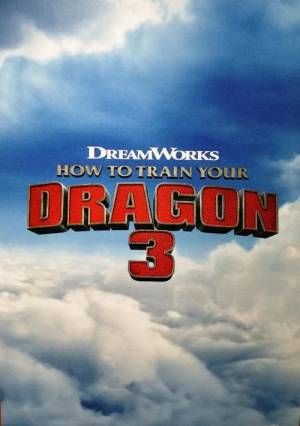 Movie poster of How to Train Your Dragon: The Hidden World