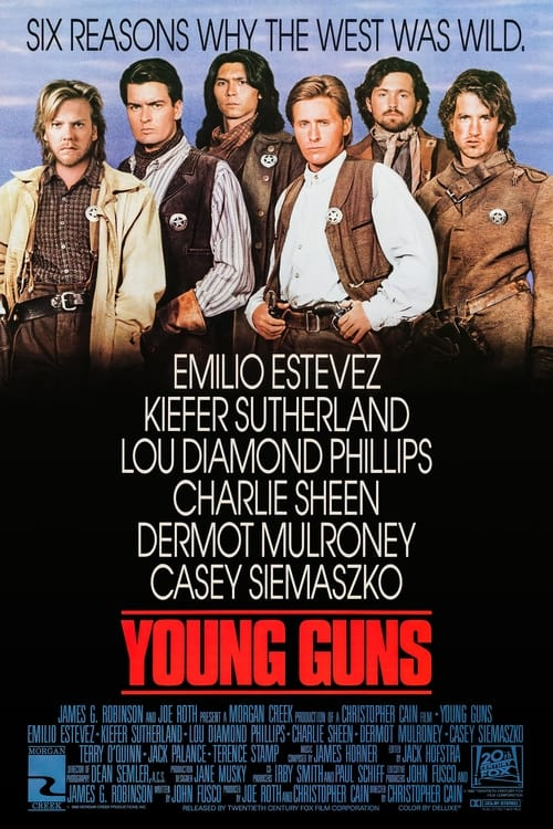 Movie poster of Young Guns