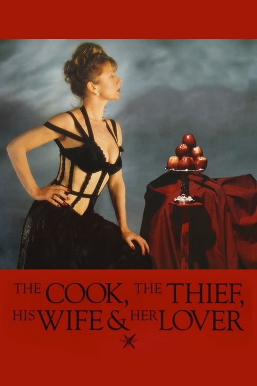 Movie poster of The Cook, the Thief, His Wife & Her Lover