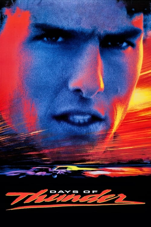 Movie poster of Days of Thunder