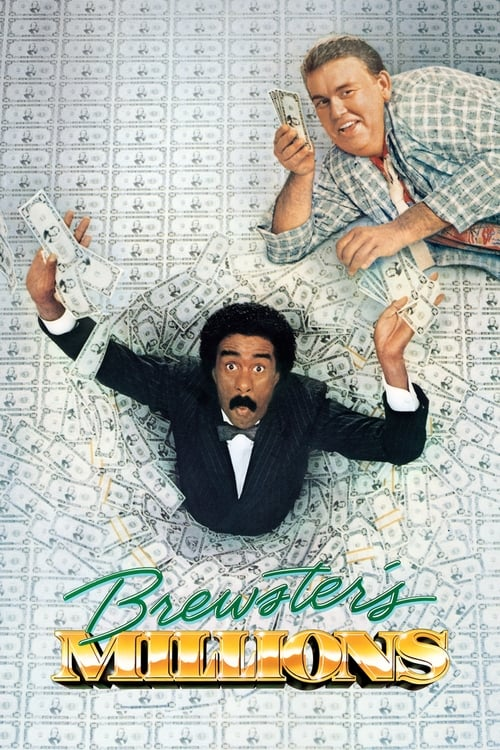 Movie poster of Brewster's Millions