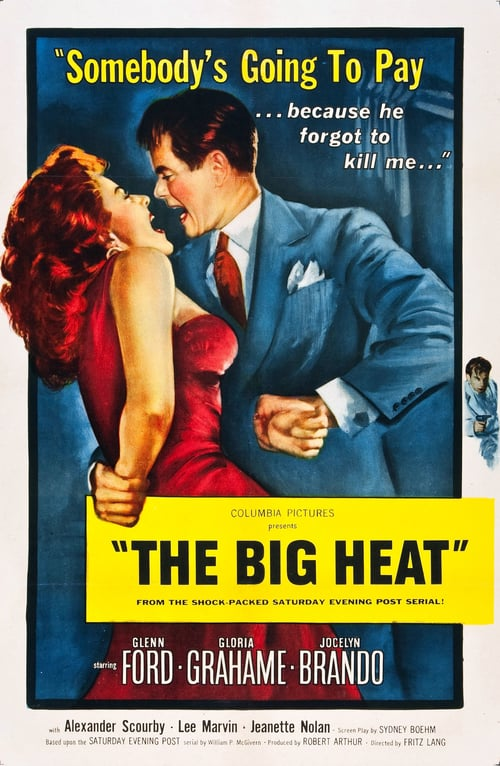 Movie poster of The Big Heat