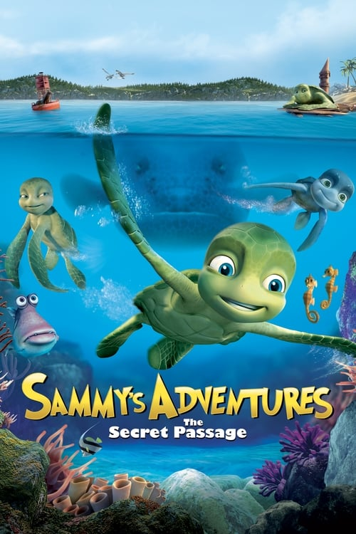 Movie poster of A Turtle's Tale: Sammy's Adventures