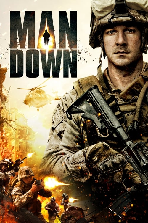 Movie poster of Man Down