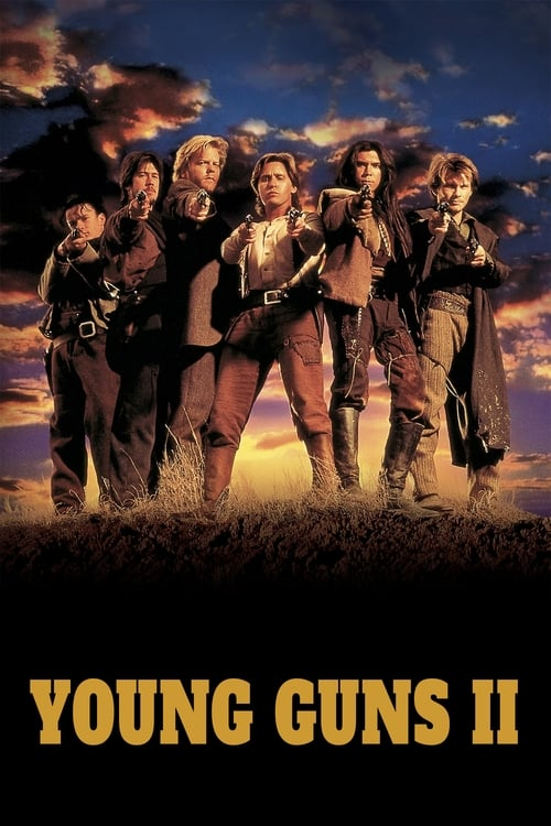 Movie poster of Young Guns II