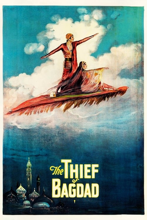 Movie poster of The Thief of Bagdad