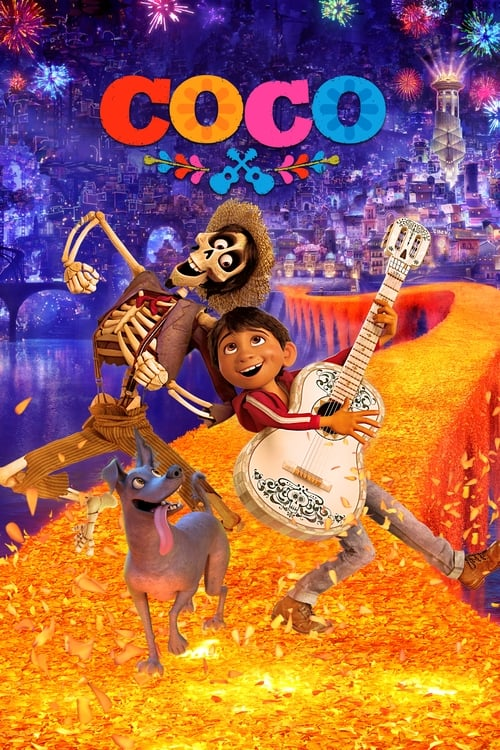 Movie poster of Coco