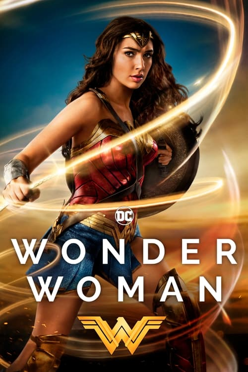 Movie poster of Wonder Woman