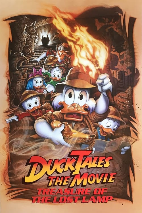 Movie poster of DuckTales: The Movie - Treasure of the Lost Lamp