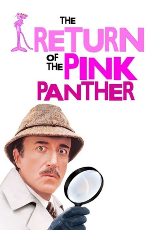Movie poster of The Return of the Pink Panther