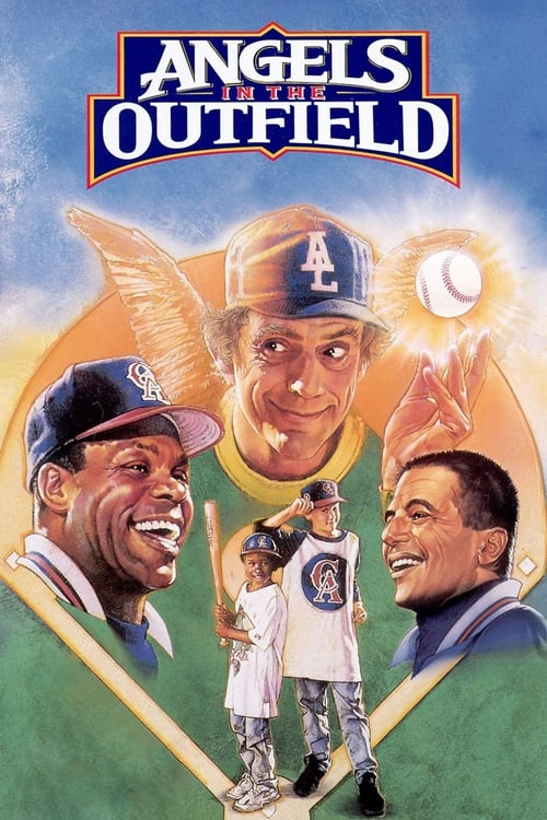 Movie poster of Angels in the Outfield