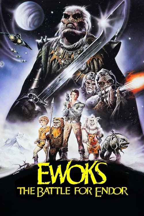Movie poster of Ewoks: The Battle for Endor