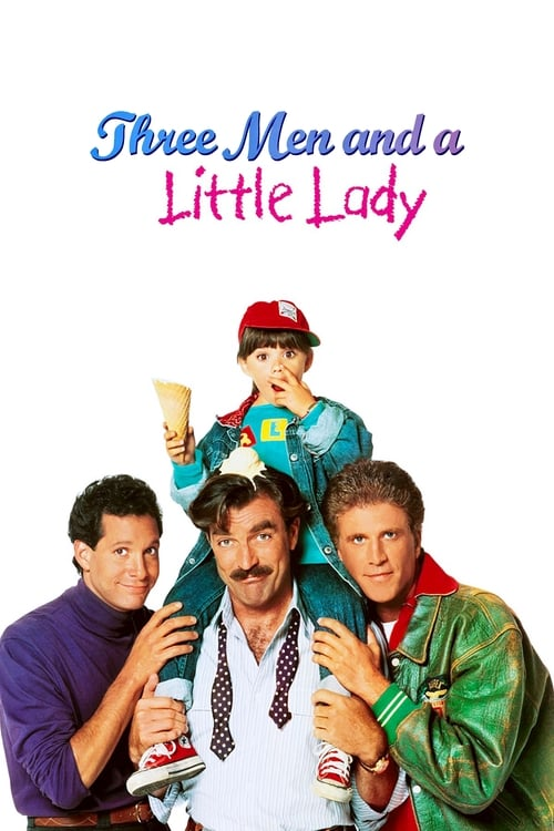 Movie poster of 3 Men and a Little Lady