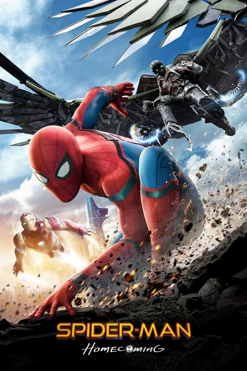 Movie poster of Spider-Man: Homecoming