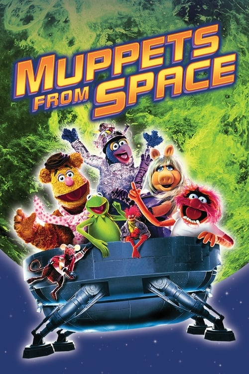 Movie poster of Muppets from Space