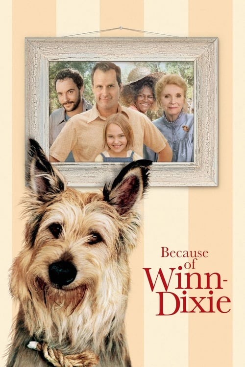 Movie poster of Because of Winn-Dixie
