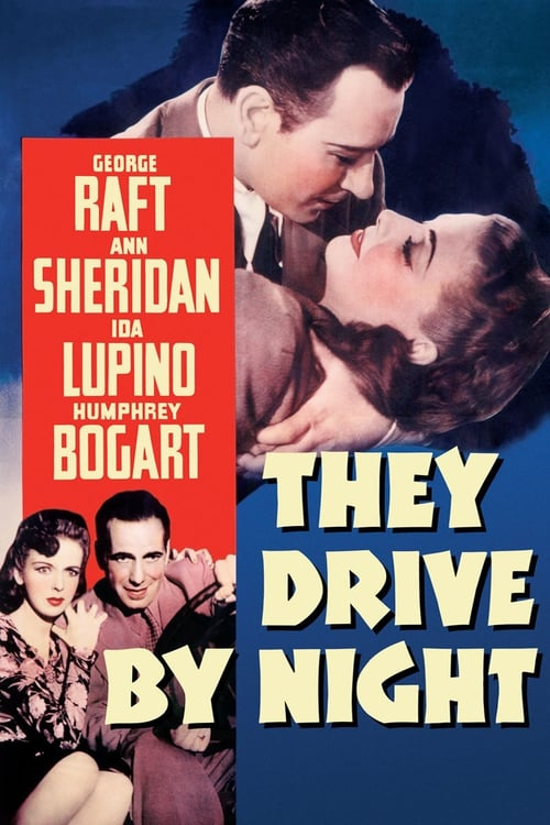 Movie poster of They Drive by Night
