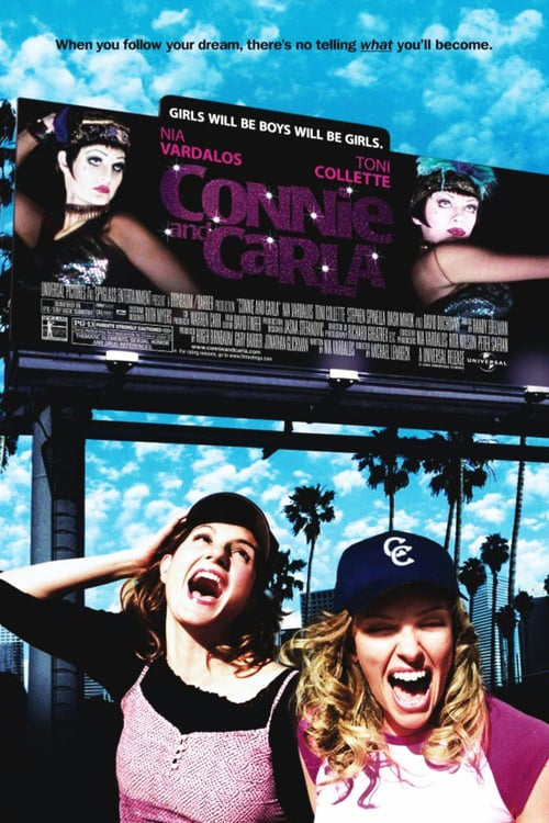 Movie poster of Connie and Carla