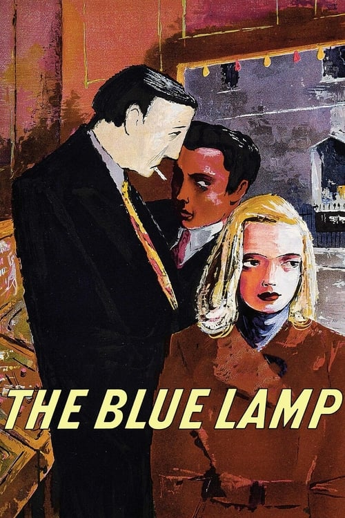 Movie poster of The Blue Lamp