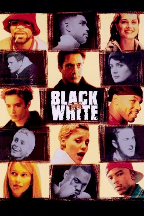 Movie poster of Black and White