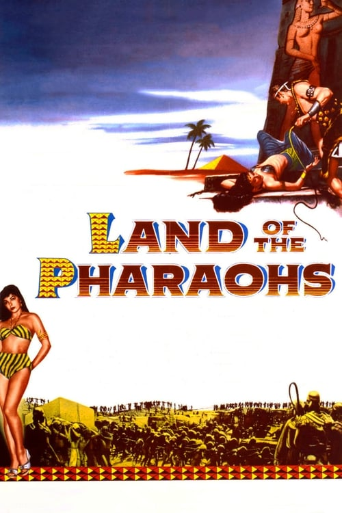 Movie poster of Land of the Pharaohs