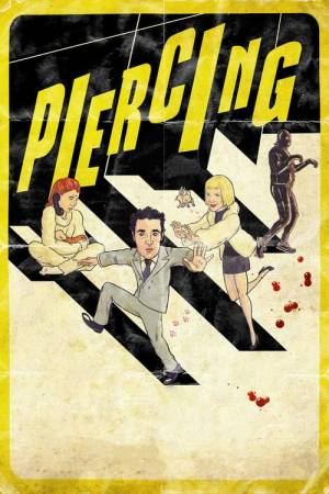 Movie poster of Piercing