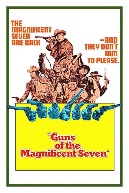 Movie poster of Guns of the Magnificent Seven