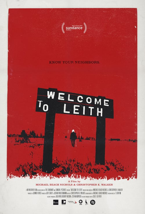 Movie poster of Welcome to Leith
