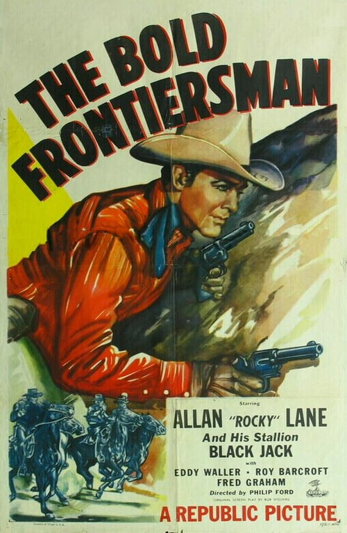 Movie poster of The Bold Frontiersman