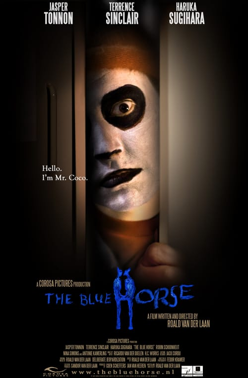 Movie poster of The Blue Horse