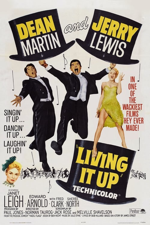 Movie poster of Living It Up